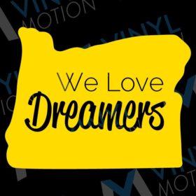 we love dreamers